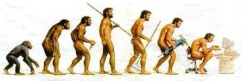 evolucion mono hombre